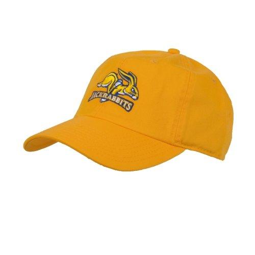 South Dakota State Jacks Gold Twill Unstructured Low Profile Hat 'SDSU Jack Rabbit'