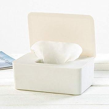 staubdicht Weihnachtliche Feuchtt/ücherbox Aufbewahrungsbox f/ür Feuchtt/ücher f/ür den Schreibtisch zu Hause oder im B/üro Schwarz Spender mit Deckel