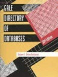 Gale Directory Of Databases 2009  Gale Directory Of Databases  2v
