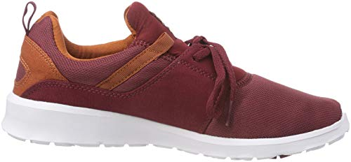 Marron Homme Skateboard Mar DC de Chaussures Shoes Heathrow Maroon wxpfYB