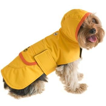 Boneheads Waterproof Raincoat for Dogs Small, Small, Color:Yellow, My Pet Supplies