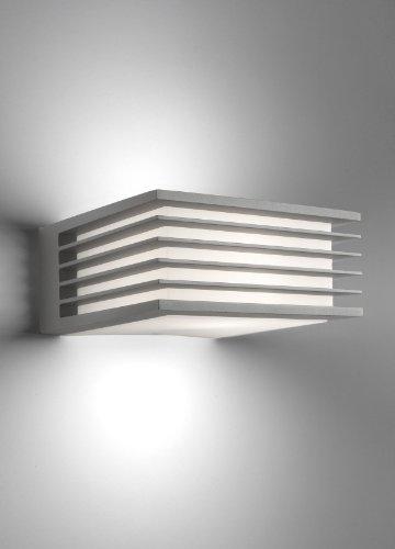 Philips shades lampada da parete da esterno, alluminio grigio ...