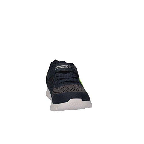 Skechers Comfy Flex-Hyper Stride, Zapatillas Para Bebés Blu