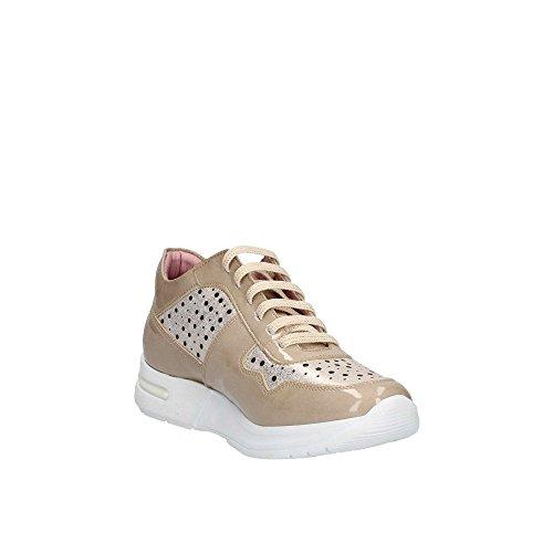 Zeppa Beige Basse 92108 Sneakers con Donna Scarpe CALLAGHAN XwAZpw