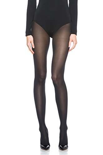 Wolford Velvet de Luxe Tights, X-Small, Coca