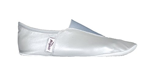 Rogelli Women's Gymnastic Shoes-Silver, Size 33 Silver
