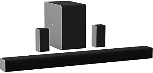 VIZIO SB36514-G6 36″ 5.1.4 Premium House Theater Sound System with Dolby Atmos and Wi-fi Subwoofer,Black (Renewed)
