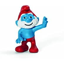 Schleich Papa Smurf Movie Toy Figure