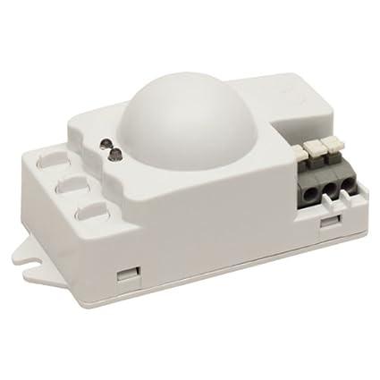 Microondas sensor de movimiento detector de presencia 360 grados – 9 m de alcance 1200 W