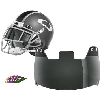 Oakley Shield Men's Football Helmet Accessories - 20% Grey / One - 20 Oakleys