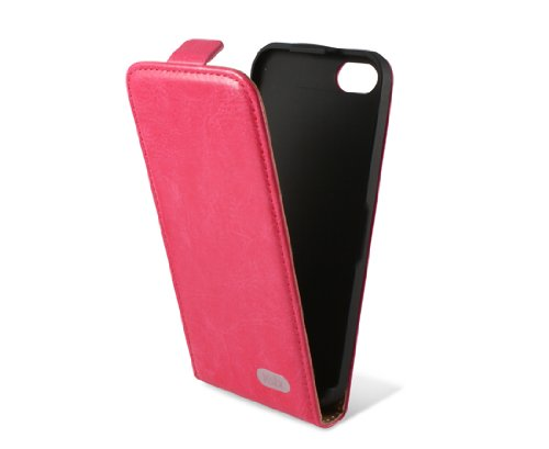 KSIX B0913FU90F Flip Case für Apple iPhone 5C fuchsie