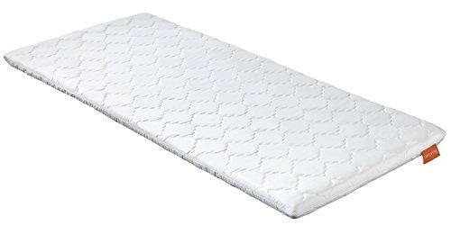 sleepling 190170 Topper Basic Kaltschaum 100 x 200 cm, weiß