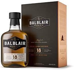 Balblair 18 Years Old Highland Single Malt Scotch Whisky 46% - 700 ml in Giftbox