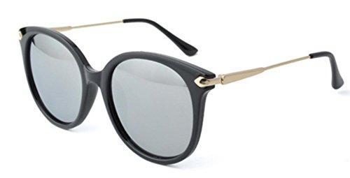 De De De Sol De Sol De Silver Manera De Las Moda Gafas Las Compras Mujeres La Las Polarizadas De Gafas La AY6tx7
