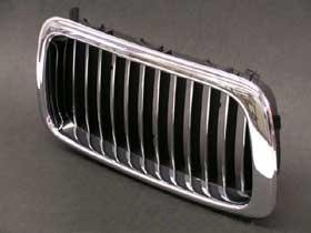82b94029dea Image Unavailable. Image not available for. Color  BMW e38 Kidney Grille  RIGHT Front Chrome ...