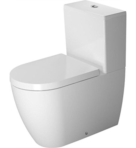 Duravit 2170090092 - Toilet CC 650mm ME by STARCK white washdown, vario outlet, USA (Set Vario Connector)