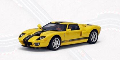 Ford 2004 GT Yellow (Part: 13082) Autoart 1:32 Slot Car