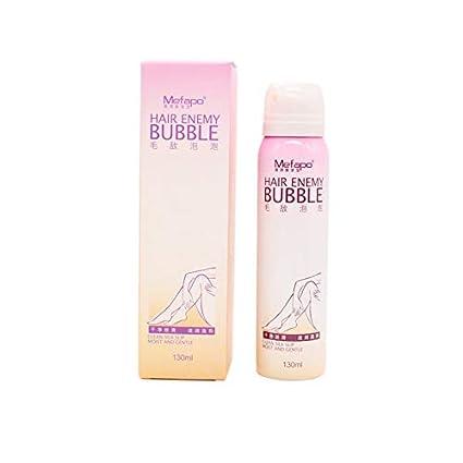 Hauggen1 Crema de depilación Natural para Hombres y Mujeres Sin Dolor Remoción de depilación Permanente Suave
