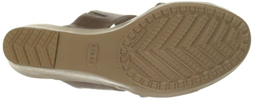 Graphic 2 II Wedge Sandal Bronze GOLD Crocs Strap Leigh Women's p7nxRtX