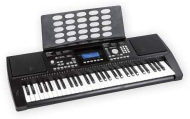Teclado M211 K, 61 teclas, piano electrónico, 580 sonidos ...