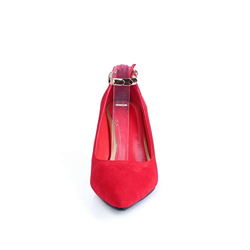 Rosso 35 BalaMasa con Sandali Donna Zeppa APL10803 Red xxPqaCf