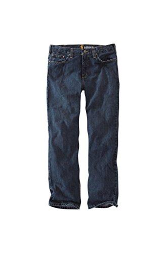 Carhartt Men's Straight Traditional Fit Elton Jean, Trailblazer, 46W x 30L