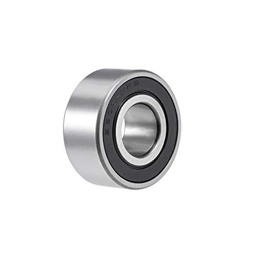 uxcell 3203-2RS Angular Contact Ball Bearing 17x40x17.5mm Sealed Bearings 5203-2RS