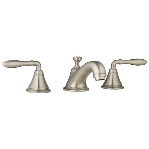 Grohe K20800-18732-EN0 Seabury Lavatory Lever Faucet Kit, Brushed Nickel (Grohe Cast)