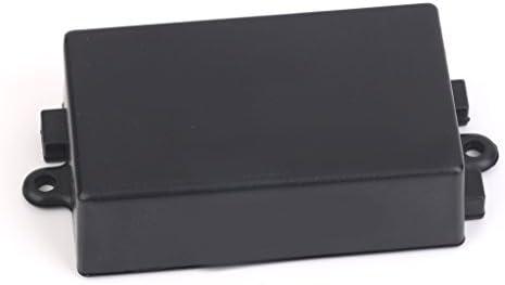 B Baosity 黒 電子回路ため 65x 38x 22ミリメートル プラスチック 筐体 端子箱