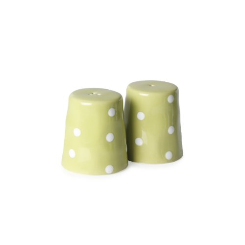 Maxwell and Williams Sprinkle Salt and Pepper Set, Lime (Salt Maxwell)