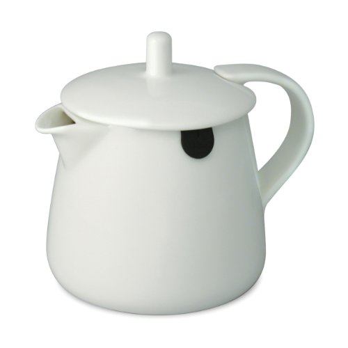 FORLIFE Teabag Teapot, 12-Ounce, White