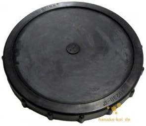 AquaForte SC261 - Manguera de aireación Profesional Disco de Membrana, 34 cm, AG 3/4 Pulgadas, Negro: Amazon.es: Jardín