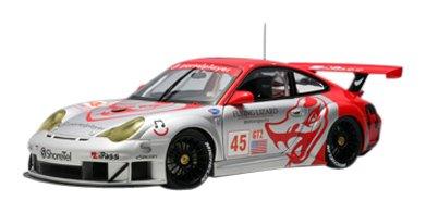 Porsche 911 (996) GT3 RSR Alms GT2 2006 Flying Lizard #45 Diecast Model 1/18 Autoart ()