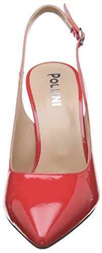 502 Pollini shoe corallo Tacco Rosa W Con Donna Scarpe wAnwfr81q
