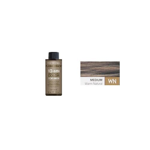 Paul Mitchell Flash Back 10-Minute Couleur des cheveux pour les hommes - Moyen chaud naturel