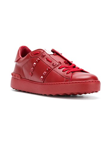 Used, Valentino Garavani Rockstud Untitled Sneakers Red 39.5 for sale  Delivered anywhere in USA