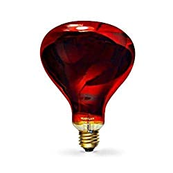 RubyLux NIR-A Near Infrared Bulb - Grade B 120V for US & Canada