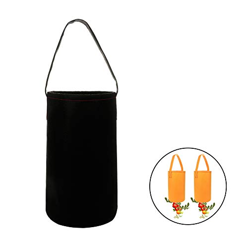 Takefuns Upside Down Tomato Planter Topsy Turvy Tomato Planter Hanging Planter Grow Bag Flower Herb Bags Plant Pouch Bag,Pack of 1