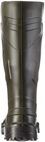 Ejendals Dunlop 762933 Purofort Bottes de sécurité Taille 49-50 Vert/Noir