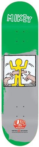 Alien Workshop M. Taylor Haring II Skate Deck, 8.12-Inch,Green