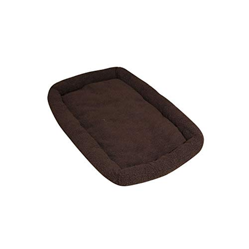ASL Solutions Fleece Dog Bed for DP Hunter House or Dog Palace, Brown ()