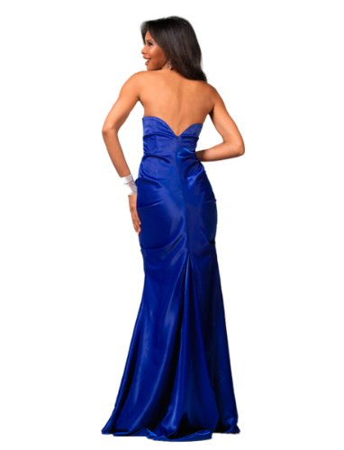 Blue Clarisse Embellished Embellished Gown 1552 Clarisse Strapless B00YqwH