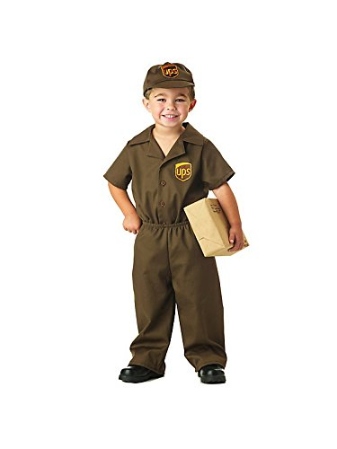 Ups Guy Costume - Toddler Costume - Toddler (3T-4T) ()