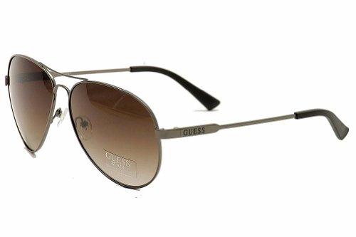 Guess Unisex Classic Aviator Sunglasses
