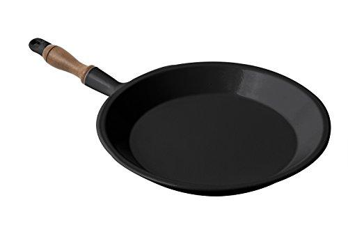 Bon Chef 5003BLK Aluminum Crepe Pan, 8