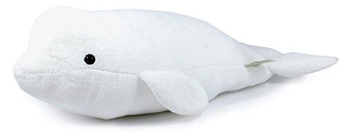 Billiam The Beluga   15 Inch Stuffed Animal Plush   By Tiger Tale Toys
