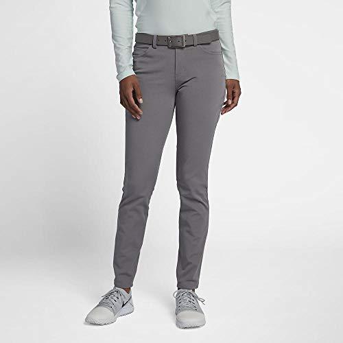 Nike Dri Fit Woven Slim 30in Golf Pants 2019 Women Gunsmoke/White 4 (Nike Golf Pants Slim Fit)