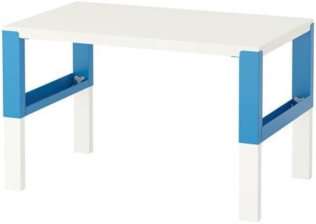 PAHL IKEA Escritorio Infantil Tamaño 96 x 58 cm, Azul: Amazon.es ...