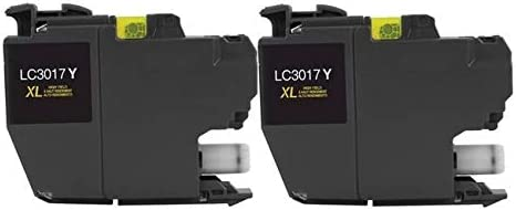 LC-3217XLY/_2PK 2//PK-550 Page Yield SuppliesMAX Compatible Replacement for Brother MFC-J5330//J5335//J5730//J76530//J6830DW Yellow High Yield Inkjet