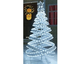 6ft spiral christmas tree